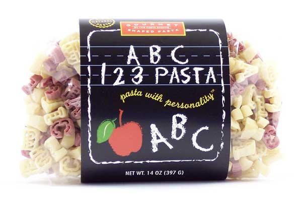 ABC 123 Pasta with Personality