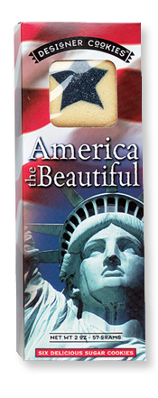 America the Beautiful Cookies