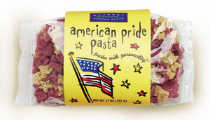 American Pride Pasta with Personality