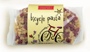 Bicycle Pasta with Personality