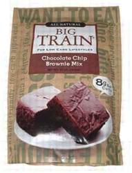 Big Train Low Carb Chocolate Chip Brownie Mix