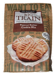 Big Train Low Carb Peanut Butter Cookie Mix