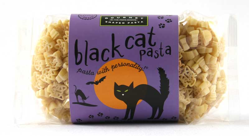 Black Cat Pasta with Personality