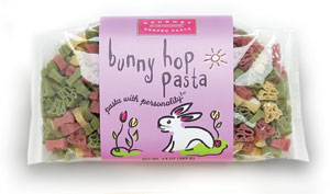 Bunny Hop Pasta with Personality