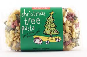 Christmas Trees Pasta with Personality