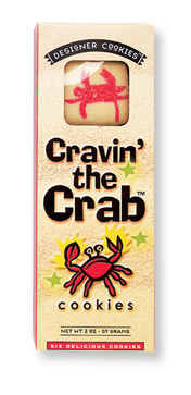 Cravin' the Crab Cookies