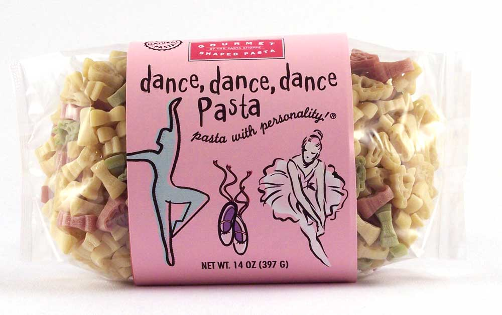 Dance Pasta with Personality