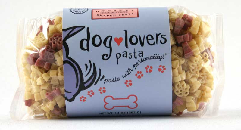 Dog Lovers Pasta with Personality