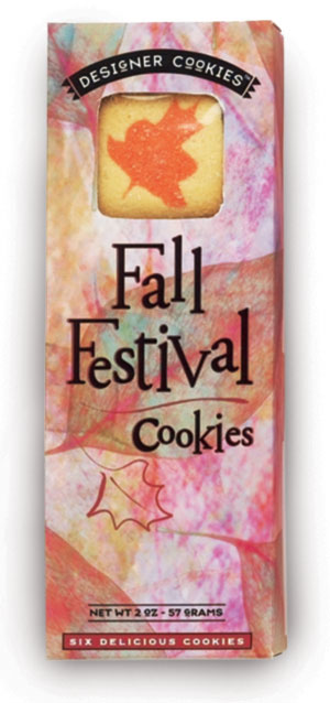 Fall Festival Cookies