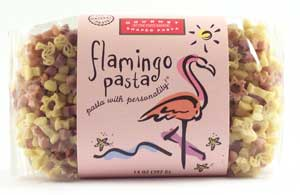 Flamingo Pasta with Personality