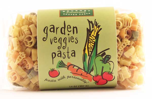 Garden of Vegetables Pasta with Personality