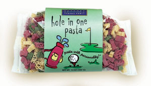 Golf Pasta with Personality