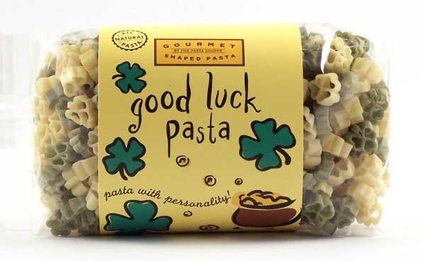 Good Luck Pasta with Personality