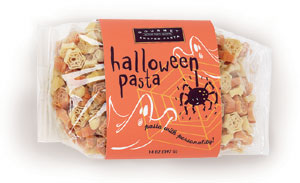 Halloween Pasta with Personality