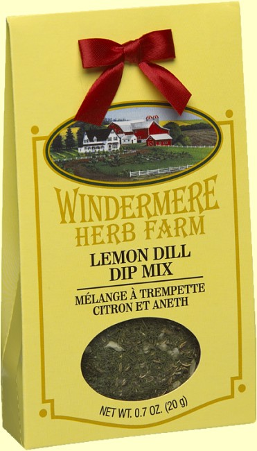 Windermere Herb Farm Lemon Dill Dip Mix