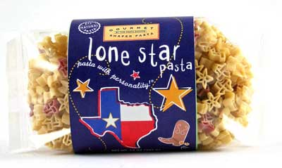 Lonestar Pasta with Personality