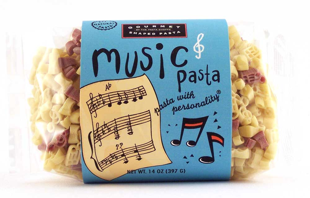 Musical Pasta with Personality
