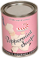 Peppermint Snaps Can