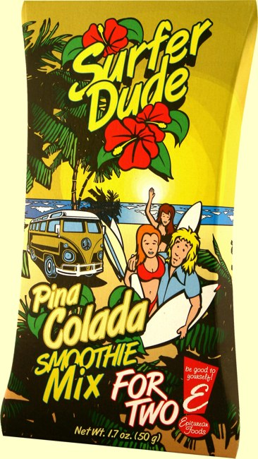 Pina Colada Smoothie Mix For Two