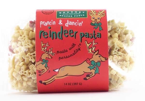 Reindeer Pasta with Personality