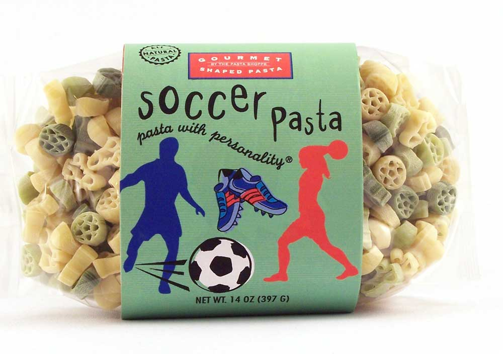 Soccer Pasta with Personality