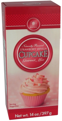 Strawberry Vanilla Gourmet Cupcake Mix