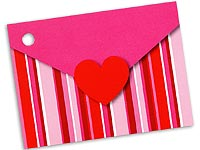 Stripes & Hearts Card