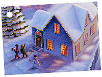 Winter Town Card