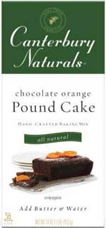 Chocolate Orange Pound Cake Mix